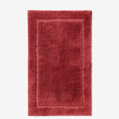 BH Studio Luxe Rectangular Bath Rug, BURGUNDY