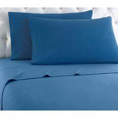Micro Flannel® Print Sheet Set, SMOKEY BLUE