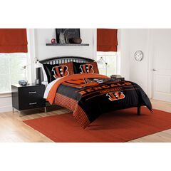 COMFORTER SET DRAFT-BENGALS, MULTI