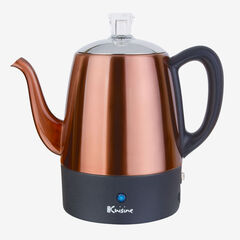Euro Cuisine 4-Cup Percolator, COPPER