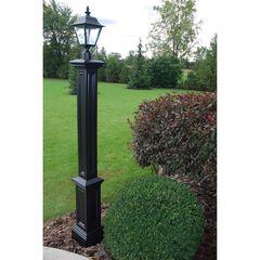 Signature Lamp Post, BLACK