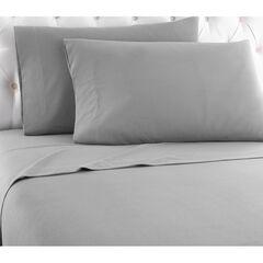 Micro Flannel® Print Sheet Set, GREYSTONE