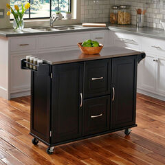 Patriot Kitchen Cart, BLACK
