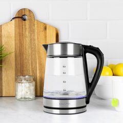 1.7L Rapid Boil Digital Electric Kettle , STAINLESS STEEL