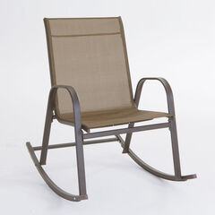 Oversized Outdoor Rocker, DARK BRONZE