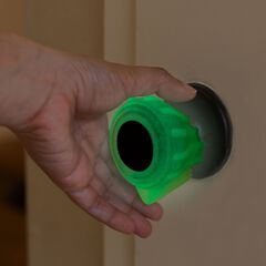 Glow Grips Door Knob Covers, CLEAR