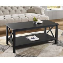 Davis Coffee Table, BLACK