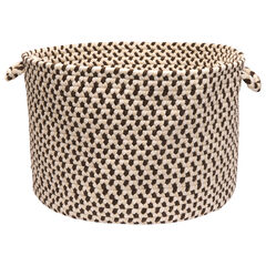 Stone Harbor Brown Basket, OAK