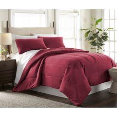 Micro Flannel® Print Sheet Set, WINE