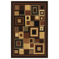 "Catalina Rug, 5'3""x7'2"", BLACK BROWN"