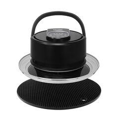Kalorik Digital Universal Air fryer Lid, Black, BLACK