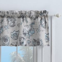 Cruz Window Valance , LINEN