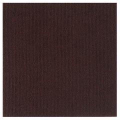 "Nexus 12"" x 12"" Self Adhesive Carpet Floor Tile - 12 Tiles/12 sq. Ft., BROWN"
