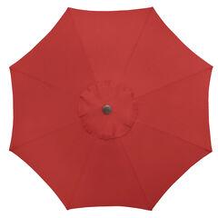 9' Tilt-and-Crank Umbrella, GERANIUM