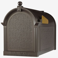 Capital Mailbox, FRENCH BRONZE