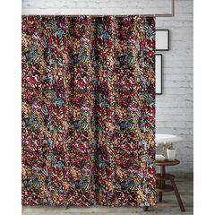 Alice Midnight Bath Shower Curtain, MIDNIGHT