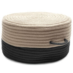 Color-Tone Pouf, EBONY