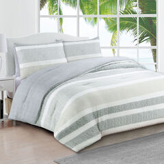 Estate Collection Delray Comforter, GRAY