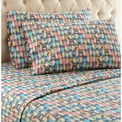 Micro Flannel® Print Sheet Set, FLANNEL