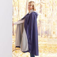 Hooded Blanket, NAVY