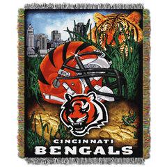 Bengals Home Field Advantage Throw,