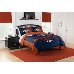 COMFORTER SET DRAFT-BRONCOS, MULTI