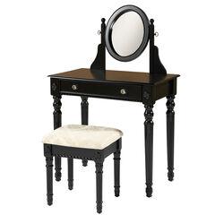 Lockner Vanity Set, BLACK