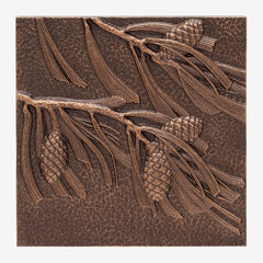 Pinecone Wall Décor, ANTIQUE COPPER