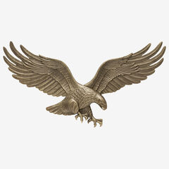 "29"" Wall Eagle, ANTIQUE BRASS"
