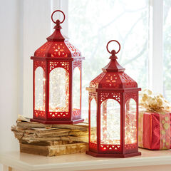String Light Lantern, RED