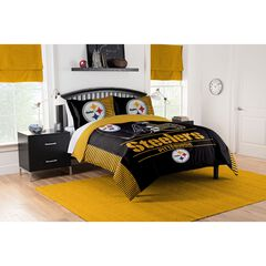 COMFORTER SET DRAFT-STEELERS, MULTI