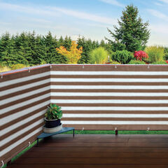 Deck/Fence Privacy Screen, BROWN