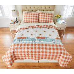 BH Studio 3-Pc. Christmas Quilt Set, HARVEST