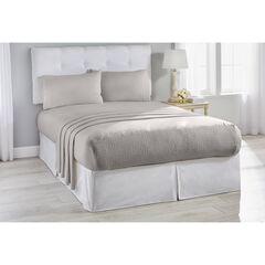 BedTite™ Cotton Jersey Knit Sheet Set, SILVER