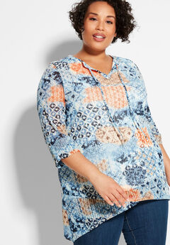 Sunrise Lace Tunic,