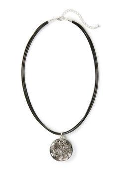 Forever Swirl Pendant Necklace,