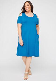 Shady Brook A-Line Dress (With Pockets),