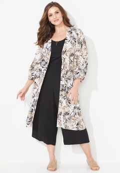 Effortless Long Kimono,