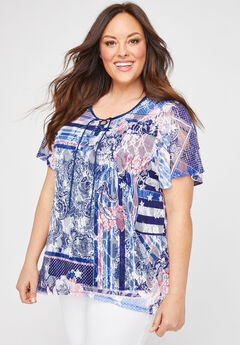 Oak Knoll Lace Top,