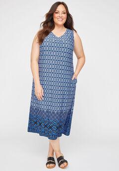 AnyWear Sonoma Midi Dress (With Pockets),
