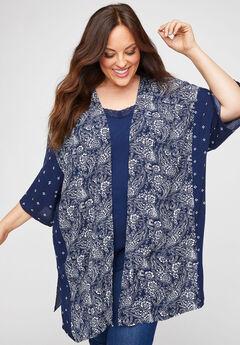 Bayshore Gauze Kimono,