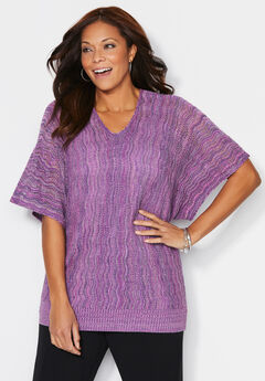 Soft Touch Marled Sweater,