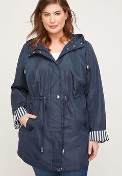 Lightweight Hooded Coat,