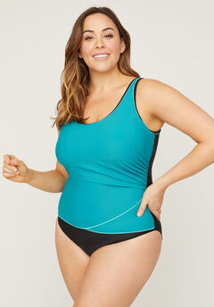 Sporty One Piece Swimsuit,