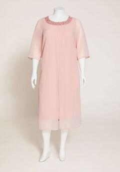 Roselawn Flyaway A-Line Dress,