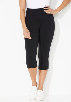 Colored Active Legging Capri,