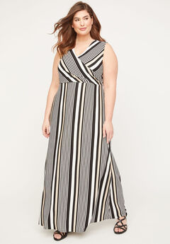Desert Springs Wrap Maxi Dress,