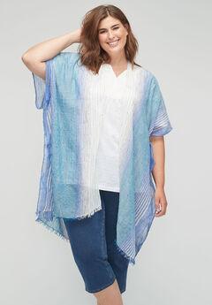 Westport Striped Kimono,