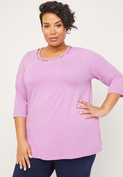 Suprema Strappy Neckline Top,