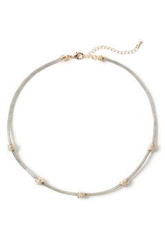 Pave Sparkle Necklace,